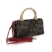 MKF Collection by Mia K. Donatella M Signature Wallet Crossbody Bag