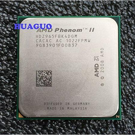 AMD Phenom II X4 965 3.4 GHz Quad-Core CPU Processor HDZ965FBK4DGM Socket