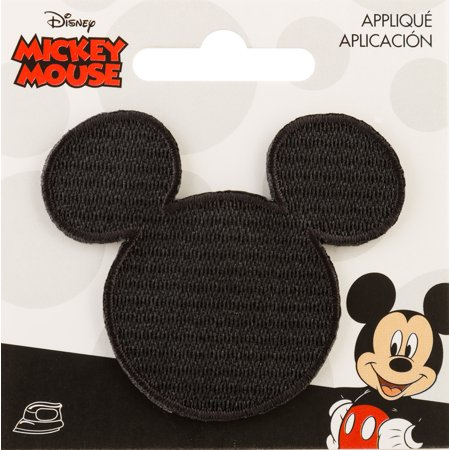 - Disney Mickey Mouse Iron-On Applique-Mickey Mouse