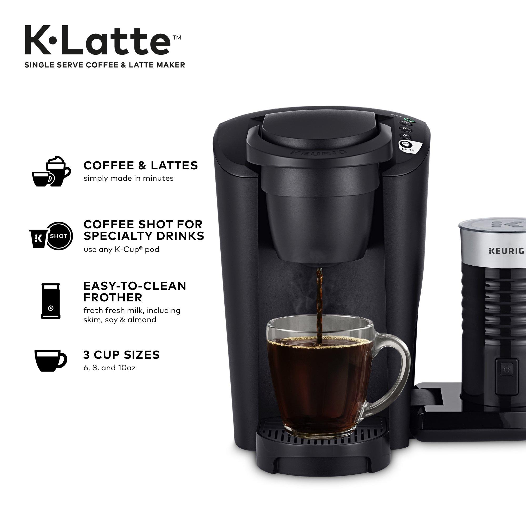 Buy Keurig K Latte Single Serve K Cup Coffee And Latte