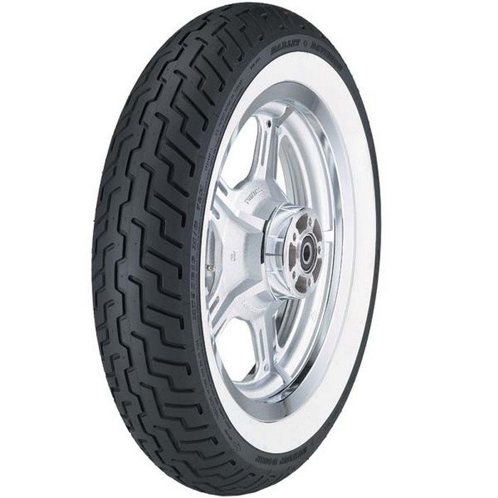 Dunlop D402 White Sidewall Touring Front Tire MT90-16