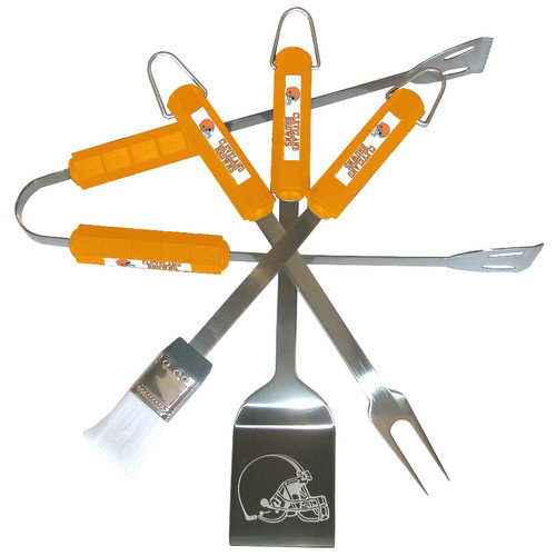 Siskiyou Products NFL 4 Piece BBQ Grill Tool Set