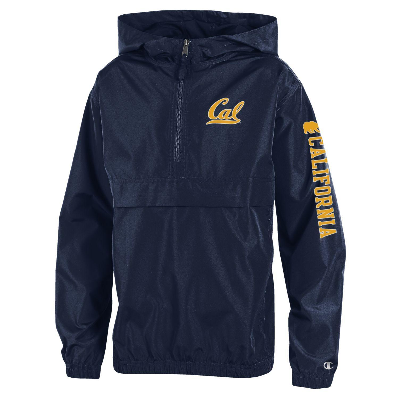 UC Berkeley Cal Champion Youth Pack N Go Jacket-Navy