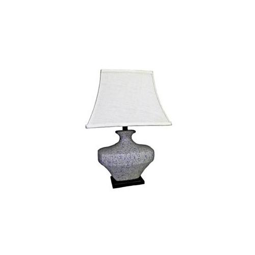 """Country Speckled Table Lamp (Multi) (24""""H x 14""""W x 14""""D)"""