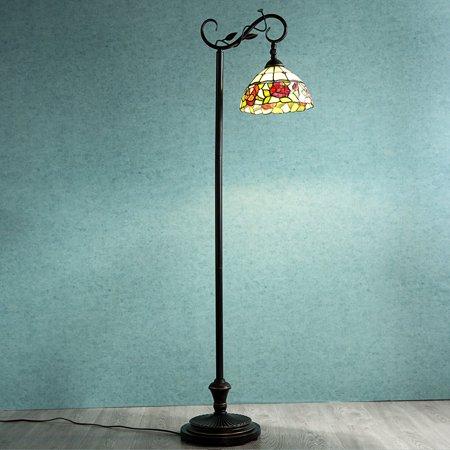 - Cloud Mountain Victorian Rose Floor Lamp