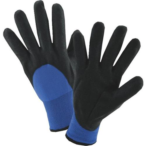 Wells Lamont  Winter-Lined Nitrile Work Gloves for Men-Large - 555L