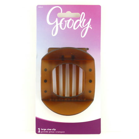Goody Kimberly Large Updo Claw Hair Clip (Brown)