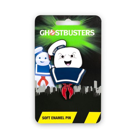 Ghostbusters Collectibles | Ghostbusters Stay Puft Marshmallow Man Enamel Collector Pin](Stay Puft Marshmallow Man Lawn Decoration)