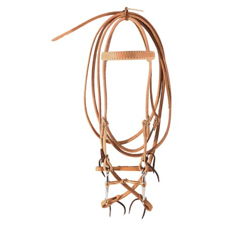 - Complete Bridle w/ Copper Tom Thumb