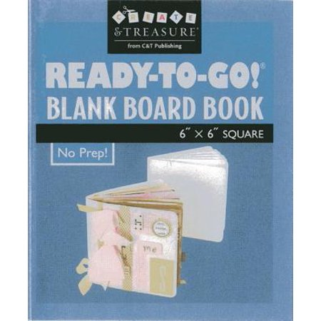 Ready To Go Blank Board Book 6 x 6 Squar (Board