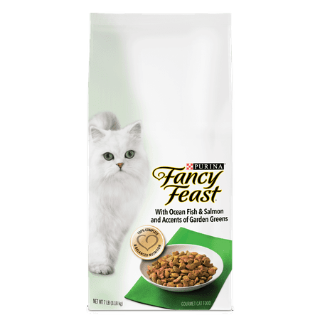 Purina fancy feast with ocean fish & salmon and accents of garden ...