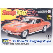 Plastic Model Kit, '63 Corvette Sting Ray Coupe, 1:25