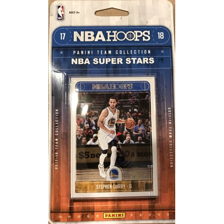 2017 2018 Hoops NBA All Stars Collection Special Edition Factory Sealed Basketball Set with Lebron James of the Cleveland Cavaliers and Stephen Curry and Kevin Durant of the Warriors