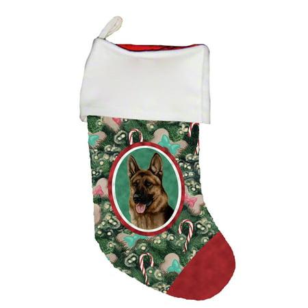 German Shepherd - Best of Breed Dog Breed Christmas Stocking