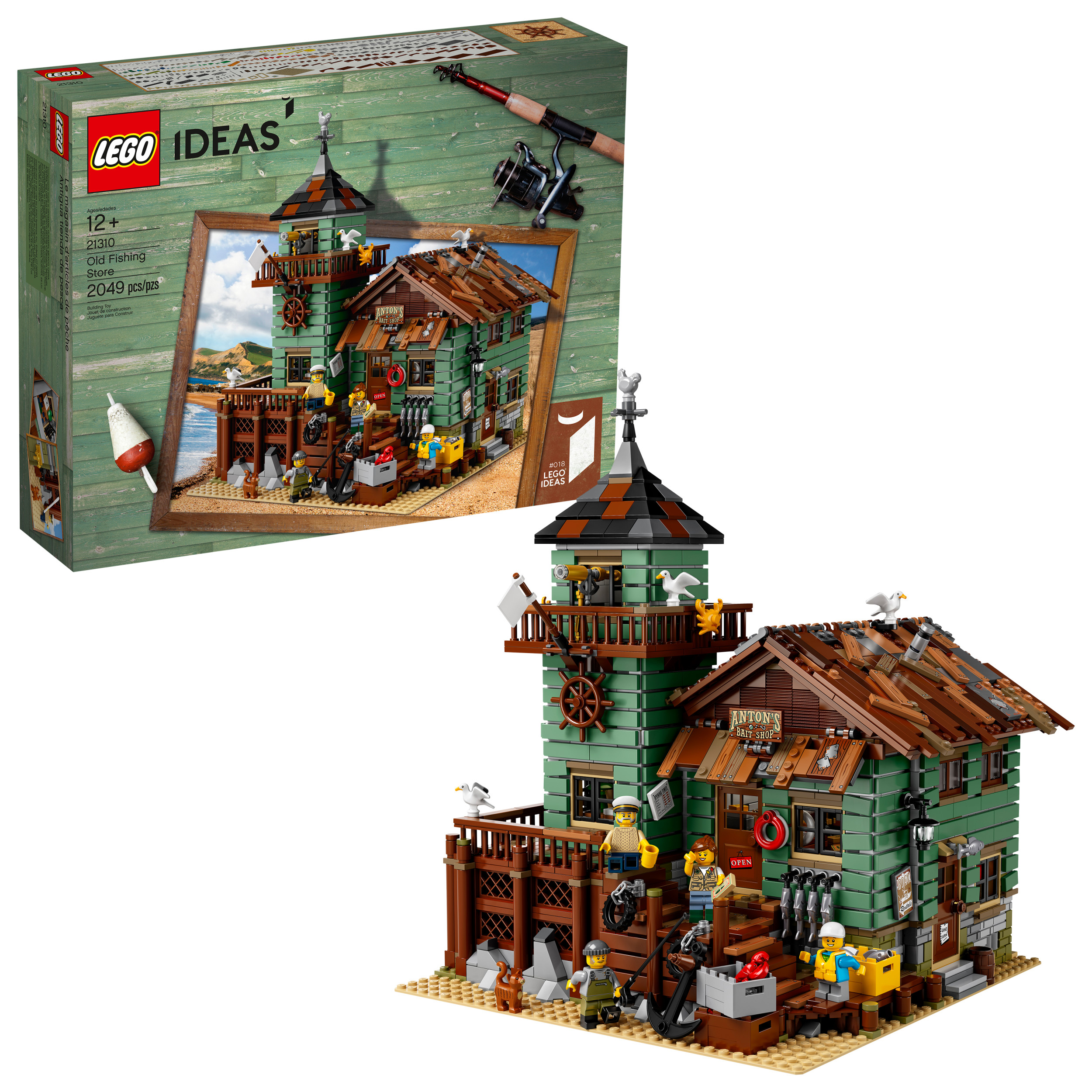 Lego Ideas Old Fishing Store 21310 by LEGO System Inc