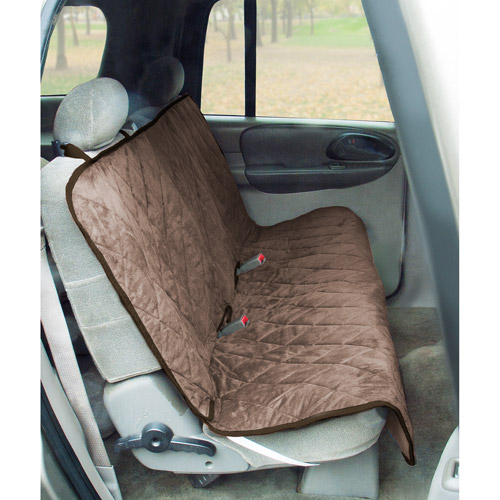 Quilt Suede, Waterproof, Tear-Proof Bench Style Car Seat Cover