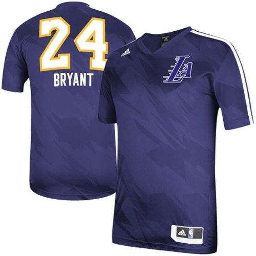 Kobe Bryant Los Angeles Lakers Youth Shooter Jersey Purple (Youth Small Size 8)
