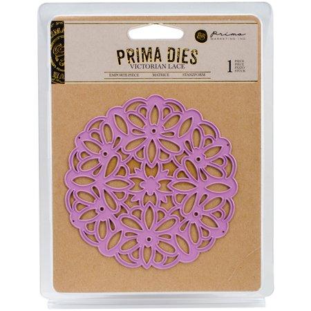 Prima Marketing Purple Metal Die, Victorian Lace