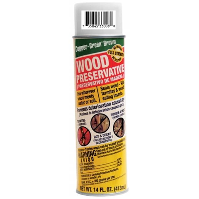 Green Products Company CB SPRAY 14 Oz Copper-Green Brown Wood Preservative Spra - Case of 12