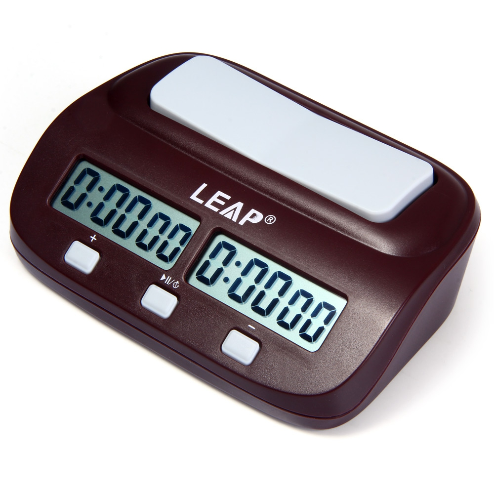 New LEAP PQ9907S Digital Chess Clock I-go Count Up Down Timer by
