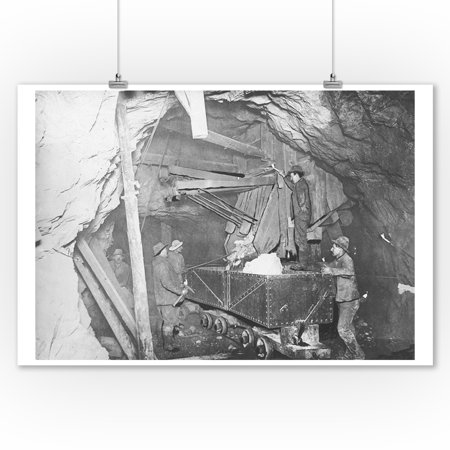 Treadwell Gold Mine 500 feet Under the Ocean in Nome Photograph (9x12 Art Print, Wall Decor Travel