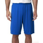 "A4 9"" Cooling Performance Shorts, Forest, X-Large"