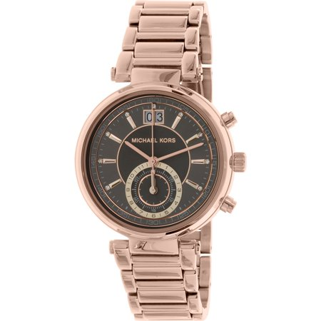 Michael Kors Women's Sawyer MK6226 Rose Gold Stainless-Steel Quartz Fashion Watch