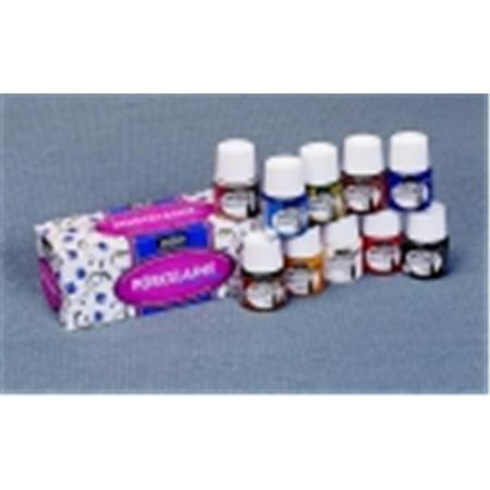 Pebeo Porcelain 150 Non-Toxic Acrylic Paint Set - 1.5 Oz. - Set 10