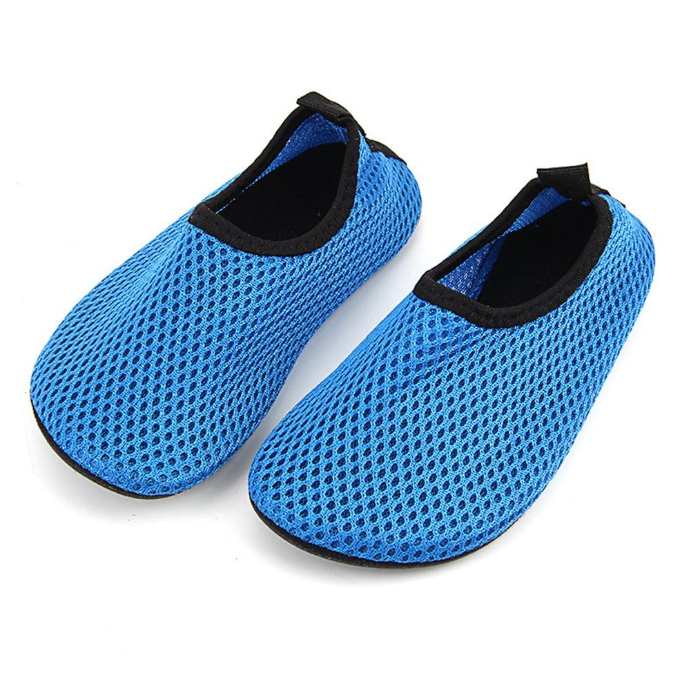 Kids Toddler Water Swim Shoes Barefoot Aqua Socks for Beach Pool ...