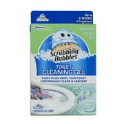 Scrubbing Bubbles Toilet Cleaning Gel Glade Rainshower 1.34oz