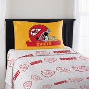 NFL Kansas City Chiefs Twin Sheet Set, 1 Each