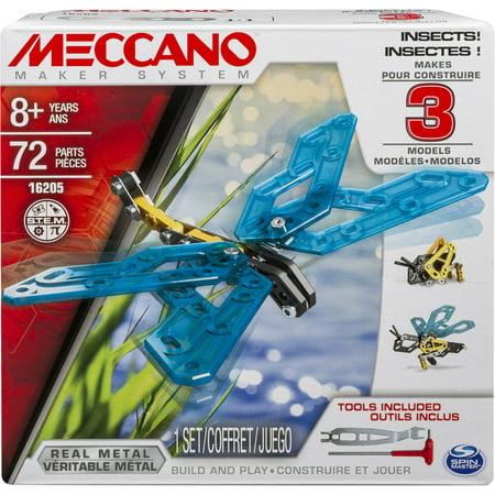 Meccano Erector 3 Model Set  Insects