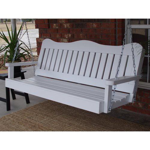 August Grove Diekmeyer Decorative Porch Swing