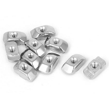 M3filetage Tête de marteau T fente goutte en T-Nuts 10pour 30série Profil en Aluminium - image 2 de 2