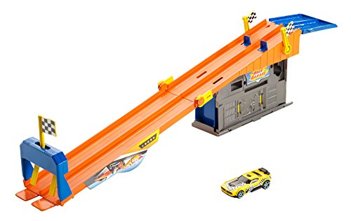 Hot Wheels Rooftop Race Garage Exclusive Playset by Mattel