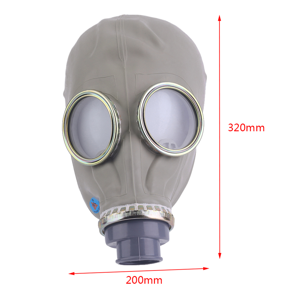 2017 Updated Pratical Gas Mask Emergency Survival Safety Respiratory Gas Mask Anti Dust by