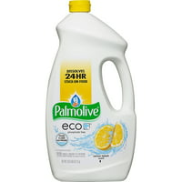 Palmolive Eco Gel Dishwasher Detergent, Lemon Splash - 75 fluid ounce