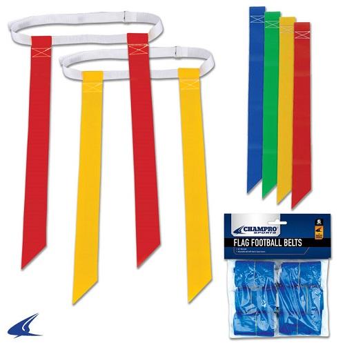 CHAMPRO Football Flag Belt Blue 6 PK by Champro