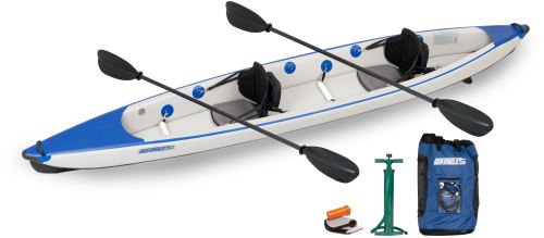 Sea Eagle 473rl RazorLite Inflatable Kayak Pro Carbon Package by Sea Eagle Boats, Inc.