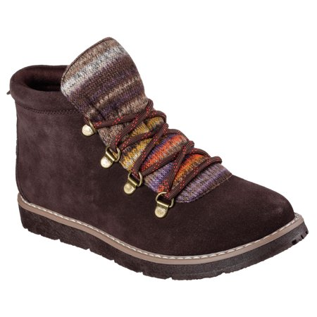 Skechers 34134CHOC Women's BOBS ALPINE-SMORES Boot Shoes