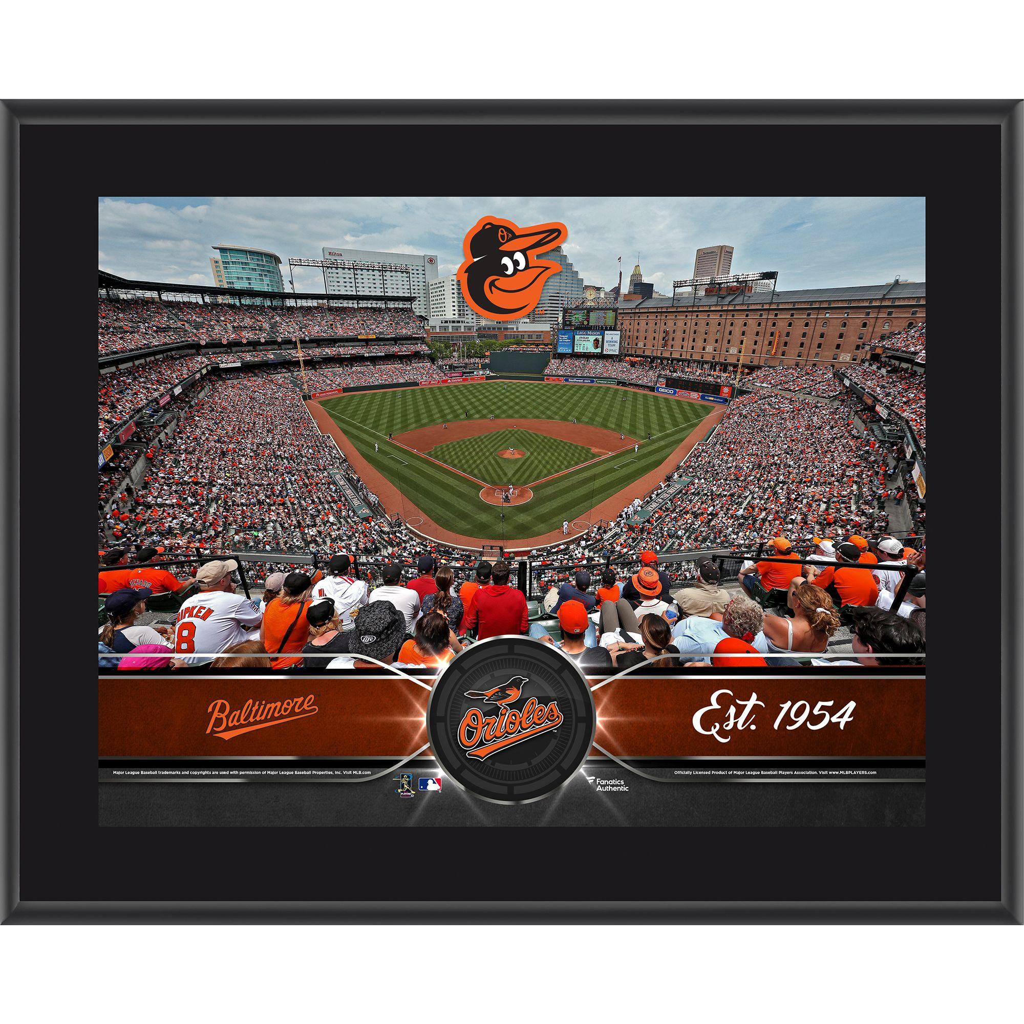 "Baltimore Orioles Fanatics Authentic 10.5"" x 13"" Sublimated Team Plaque - No Size"