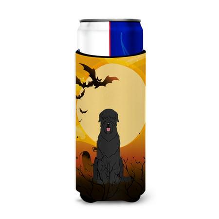 Halloween Black Russian Terrier Michelob Ultra Hugger for slim cans BB4292MUK - Russian Halloween