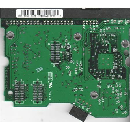 WD400BB-00GFA0, 2061-001223-090 AE, WD IDE 3 5 PCB