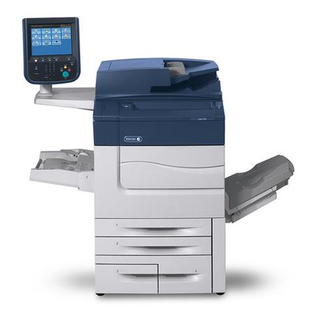 Refurbished Xerox Color C70 Digital Laser Production Printer - 75ppm,  Print, Scan, Copy, 4 Trays, Bypass Tray, Offset Catch Tray, Integrated  Fiery