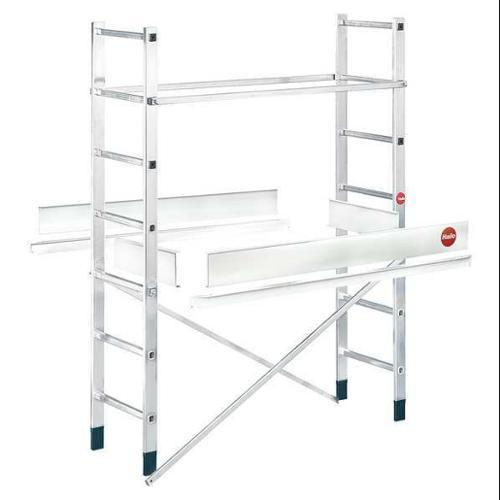 HAILO 9477-001 Scaffold Ladder Add-On, 396 lb., Aluminum by HAILO
