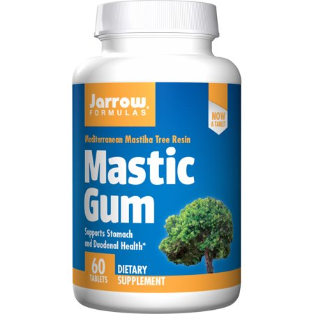 Jarrow Formulas Mastic Gum, Supports the Stomach and Duodenal Health, 60 Caps (Bubble Gum Vitamins)