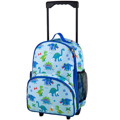 Olive Kids Dinosaur Land Rolling Luggage - Walmart.com