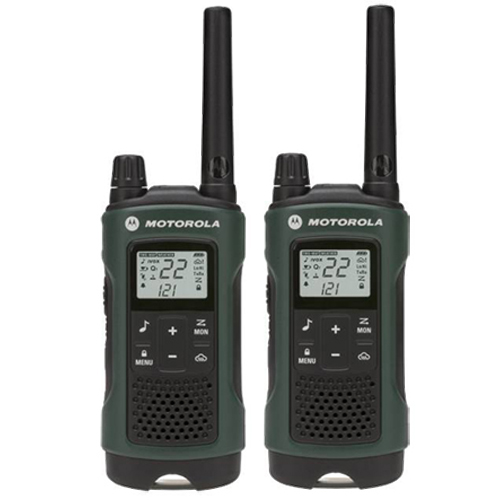 Motorola T465 Two Way Waterproof Radio w/ Quiet Talk Filter