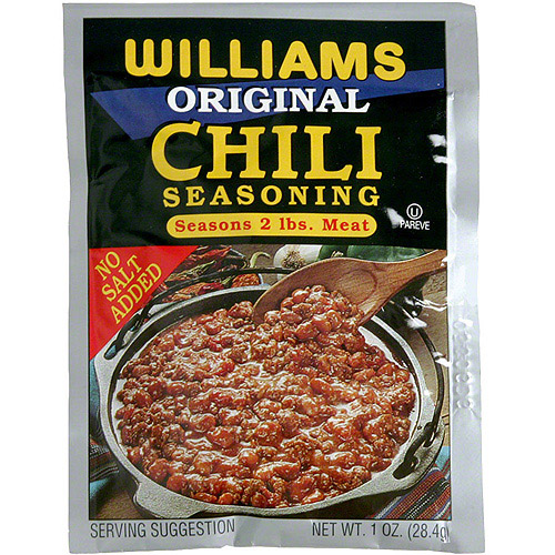 Williams Original Chili Seasoning, 1 oz (Pack of 24)
