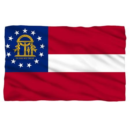 - Georgia Flag Fleece Blanket